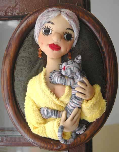 Авторская кукла :: Петербургское утро