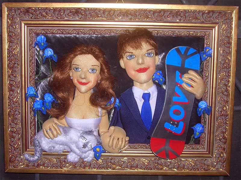 Эксклюзивный подарок :: Кристина и Андрей